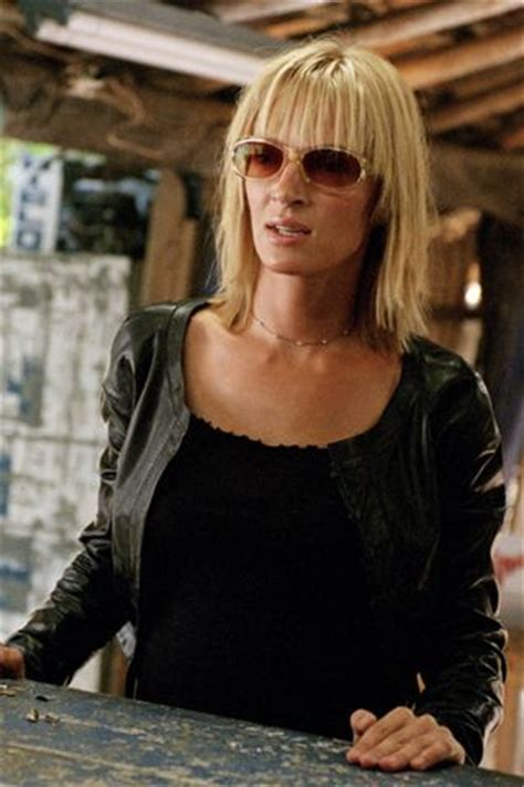 uma thurmans hair in kill bill the savvy survivor uma thurman in kill bill the beauty