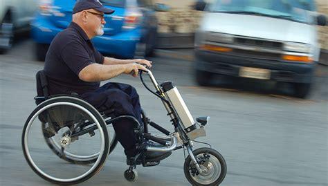 sedia elettrica funzionamento mobility firefly trasforma una sedia a rotella in