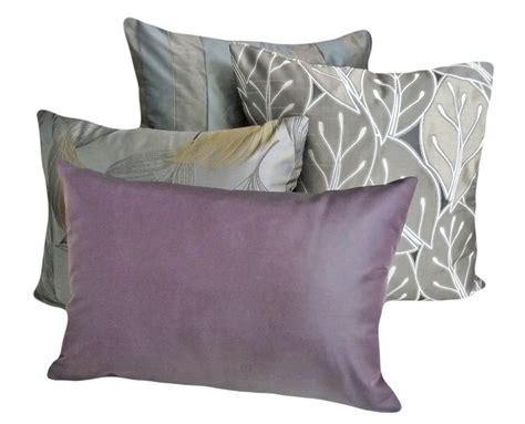 lumbar pillows for sofa solid purple throw pillow contemporary luxury lumbar pillow