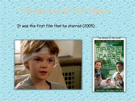 The Miracle Of The Cards Free Brodie Sangster