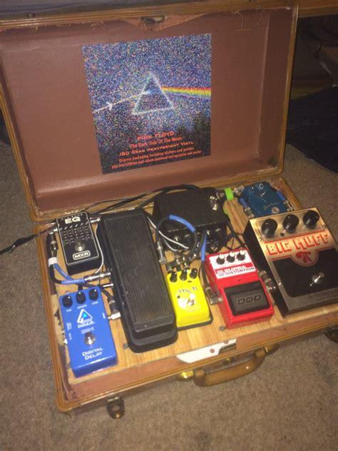 homemade pedal board design diy guitar pedal board dan 183 nix
