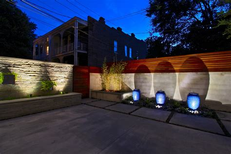 Exterior Patio Lights Decks Light Superb Japanese Modern Shop Interior Design