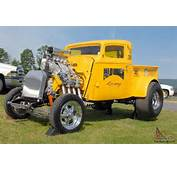 36 Willys A/Gas Supercharged Pickup Gasser Blown And Injected 392 Hemi