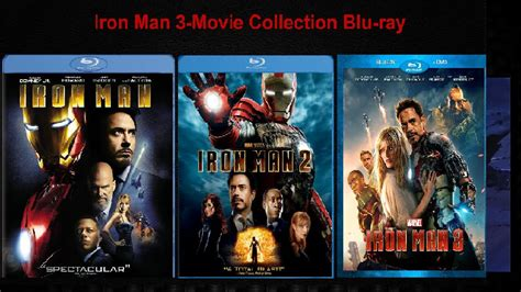 iron man collection blu ray hd youtube