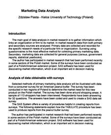 research analysis template sle data analysis 9 exles in pdf word excel