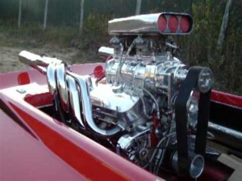 motorboat the song jet boat w blower engine youtube