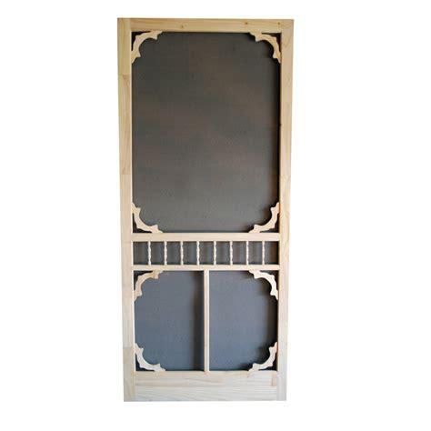 diy 34 in wood screen door lowe s canada