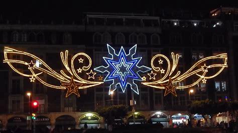 imagenes del zocalo adornado de navidad navidad en la ciudad de m 233 xico 2015 z 243 calo youtube