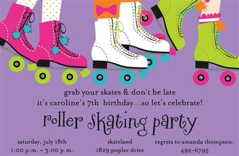 Free Birthday Skating Invitation Template For Kids Orderecigsjuice Info Skating Invitation Template Free