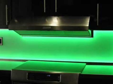 led kitchen backsplash backsplash with lights youtube