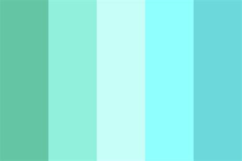 tropical colours tropical waters color palette