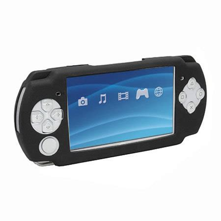 Murah Silicone Siliko Casing Psp silicone for sony psp slim lite black