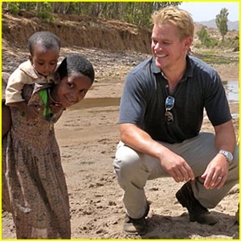 matt damon south africa matt damon launches safe water organization matt damon