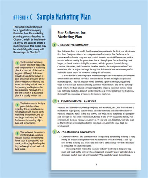 Example Of Simple Resume Format by Marketing Action Plan Template 9 Download Documents In