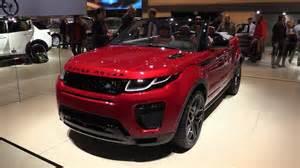 Range Rover Evoque Red Interior Land Rover Range Rover Evoque Convertible 2016 2017 In