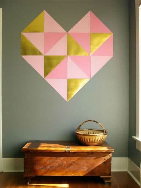 heart decorations for the home cute and easy valentine decorations diy ready