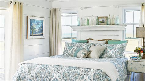 ideas blue bedrooms coastal living