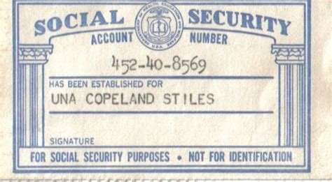 social security templates free our family history jiles whitfield stiles una copeland