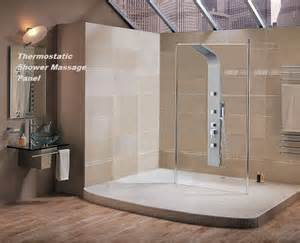 Shower Panels For Bathrooms Bathroom Showers With Seats Bathroom Design Ideas 2017