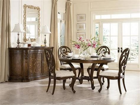 Classic round dining room table sets our 1st place d pinterest