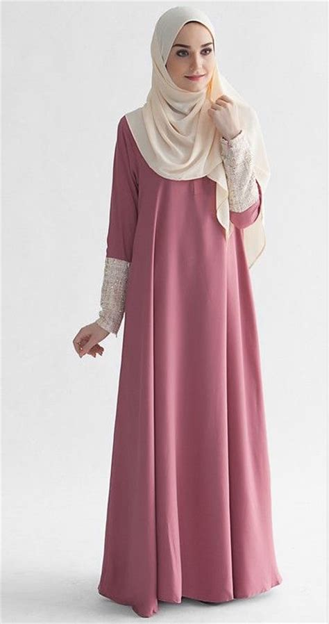 Dress Anak Elegan 25 model dress muslim masa kini simple elegan