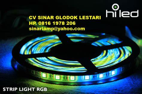 Hiled Running Rgb Module 3 Mata aneka lu advertising dan back light