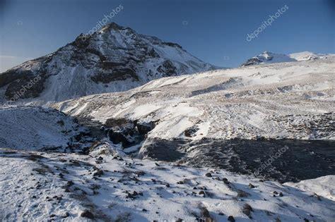 fotos islandia invierno paisaje de islandia invierno islandia paisaje con r 237 o