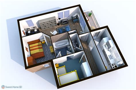 home 3d sweet home 3d draw floor plans and arrange furniture freely