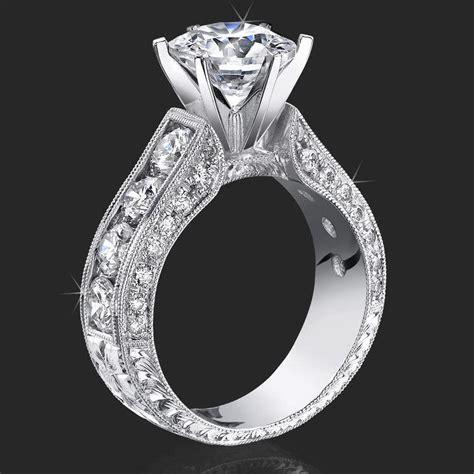 4 prongs vs 6 prongs unique engagement rings for women