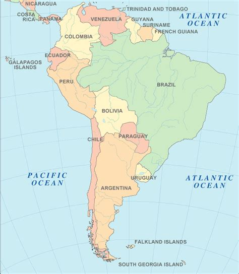 map of south american countries south america atlas south america map and geography
