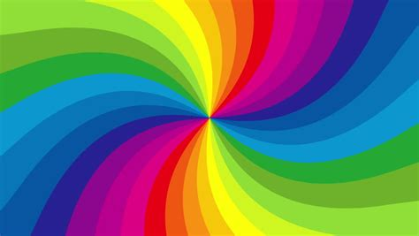 colorful themes rainbow stock footage
