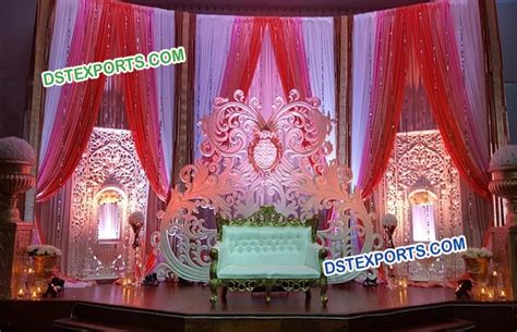 Indian Wedding Backdrop by Jhrokha Panel Wedding Stage Backdrop Dstexports