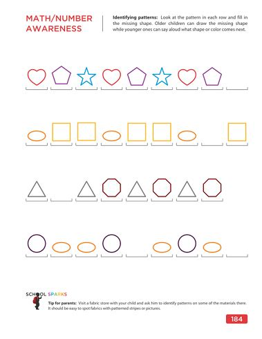 pattern activities for 5 year olds 5 best images of printables for 5 year olds 5 year old