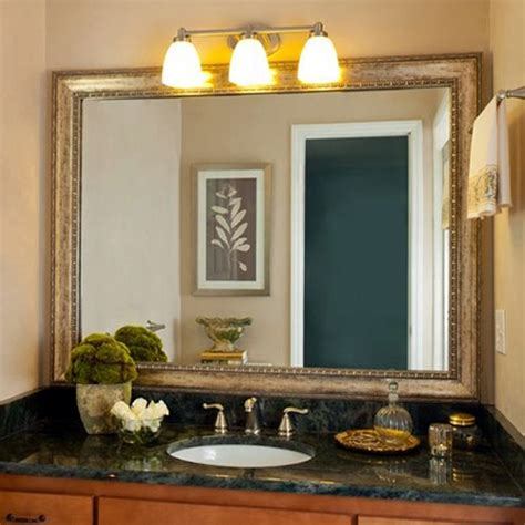 bathroom mirror frame kits pin by fischer on bathroom