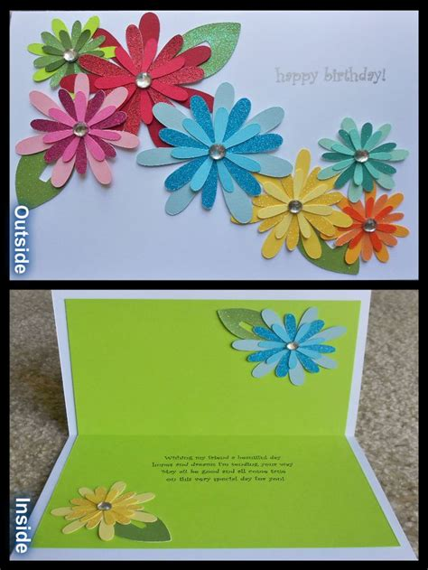 how to make a card using cricut templates handmade birthday cards picmia