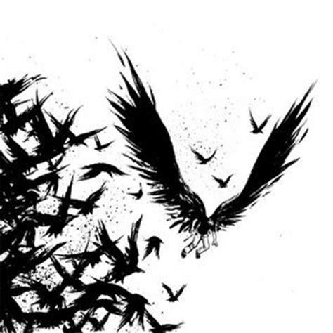 tattoo bulu burung tujuan pelestarian burung gagak bimbingan