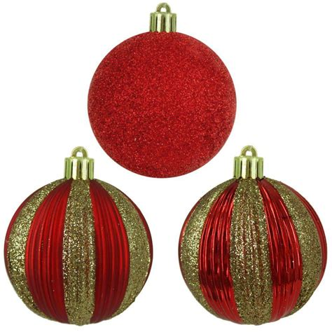 home accents holiday 2 7 in gold shatter resistant