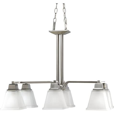 home lighting collections progress lighting north park collection brushed nickel 6