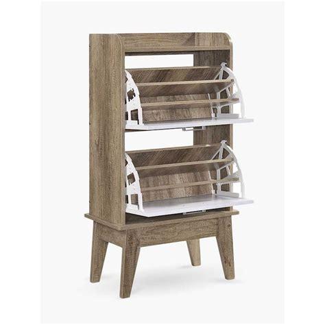 sonja shoe cabinet rack storage scandinavian  oak