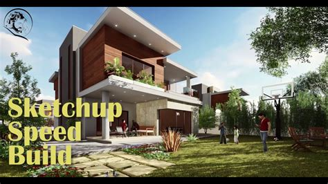 tutorial de lumion 5 sketchup 2017 lumion 6 speed build house youtube