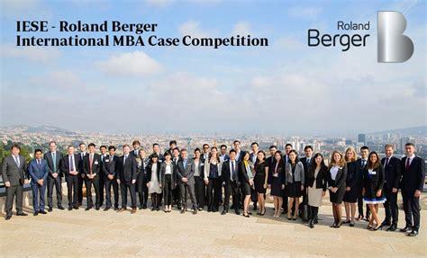 Iese Business School Mba Deadline by International Mba Competition Iese Business School