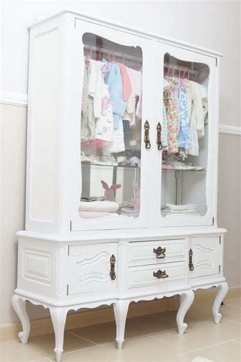 cabinet for baby clothes repurposed china cabinet baby s closet the hutch
