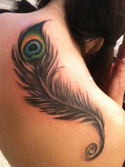feather tattoo on shoulder feather tattoos page 2