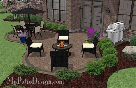 my patio design curvy patio design patio layout and material list