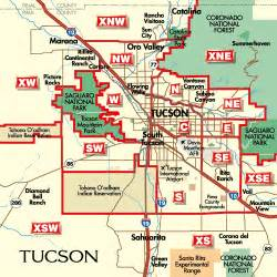 tucson arizona zip code map tucson arizona city map tucson arizona mappery