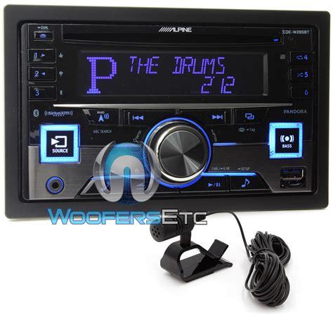 Unit Dobel Din alpine cde w265bt in dash din cd mp3 usb ipod car