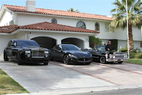 maserati driveway austin chumlee russell s cars celebrity cars blog