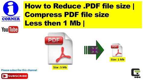 Compress Pdf Online 1mb | how to reduce pdf file size compress pdf file size less