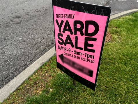 Up After Garage Sale by Yard Sale Tips Tricks How We Made 1549