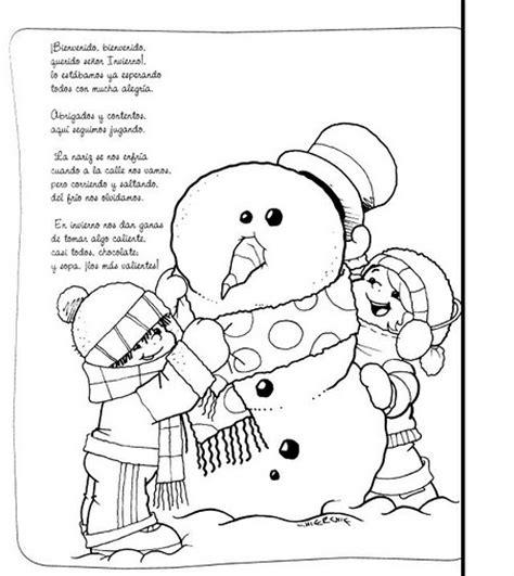 imagenes para pintar vacaciones invierno publicado por el rincon en 6 01